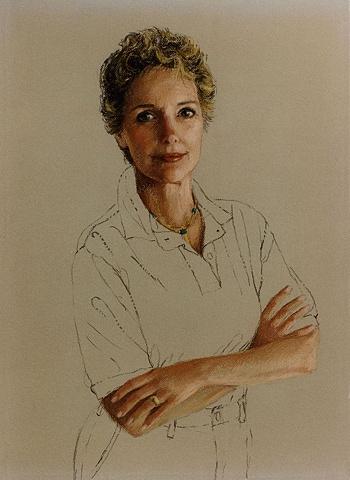 Portrait of a fellow artist