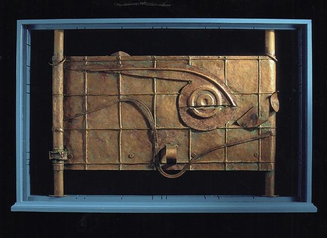 copper sculpture,