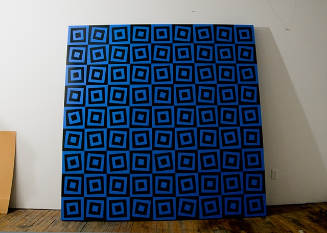 joshua josh sperling 324 squares rotated square pattern