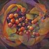 Marilyn M. Belle-Isle Abstract Berries 2- Emergence