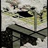 "Hana No En (Under the Cherry Blossoms) 2009 Paper relief, 6"" x 5"""