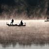 JoAnne Dumas  Fishing in Morning Fog