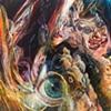"Amy Swartele - 'Wee Rabbit'  2008 40"" x 60"""