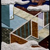 "Hotaru (The Fireflies) 2009 Paper relief, 6"" x 5"""