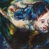 "Amy Swartele - 'Dream Egg'   2009   52"" x 76"""