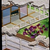 "Fujibakama (Thoroughwort Flowers) 2009 Paper relief, 6"" x 5"""