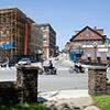 "Main Street Brattleboro, Vermont  1941 & 2006 Gelatin Silver print and Digital C-print 8"" x 10"" and 20"" x 26"""