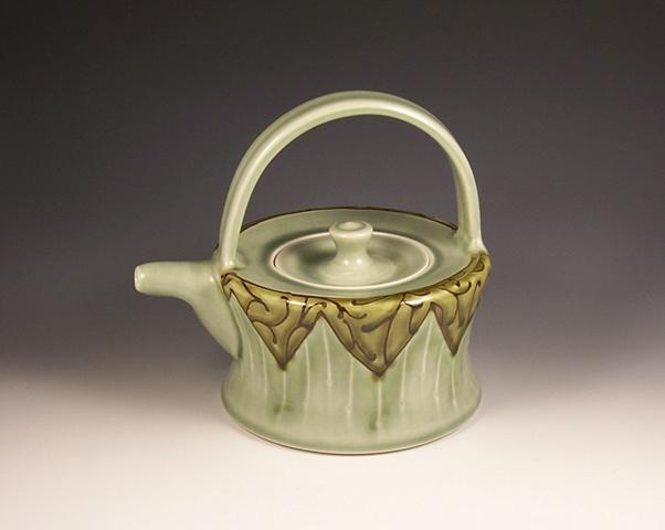 flat top teapot