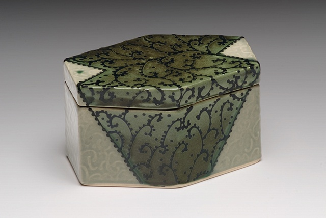 six sided coffin box