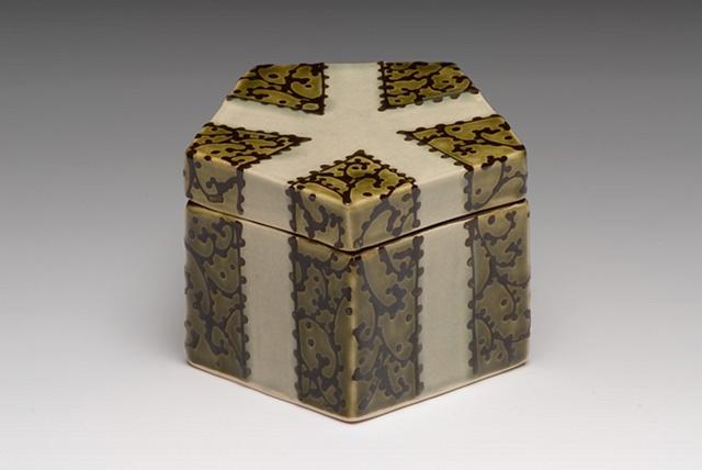 small pentagonal box
