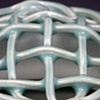 woven top cage (detail)
