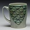 slim mugs minoan blue/green