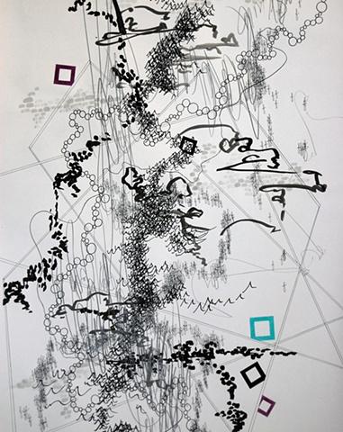 Passing Through (detail)