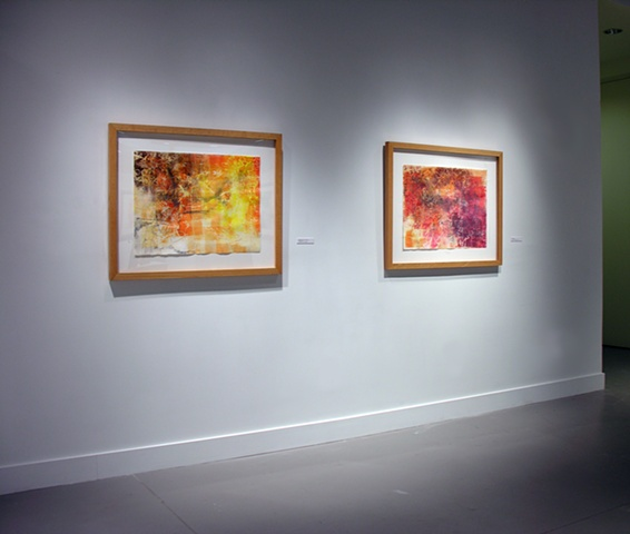 Installation of 'Mountains Out of Mole Hills' and 'Worn Out'