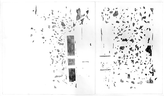 NEGATIVE of Wadi Salib: Double Doors