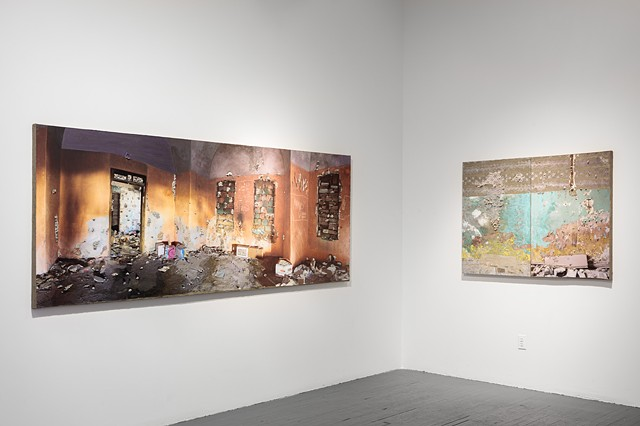 """A Room with No Exit"" - Installation View"