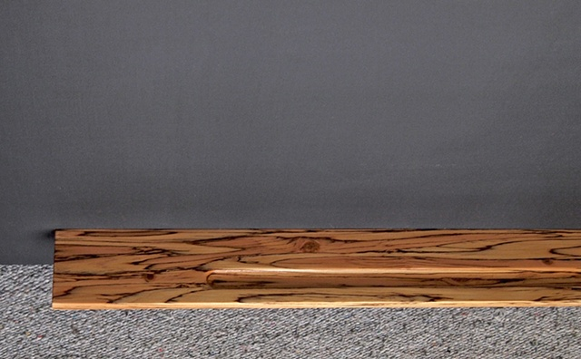Wood chalkboard tray, engineered wood, parallam lumber, psl