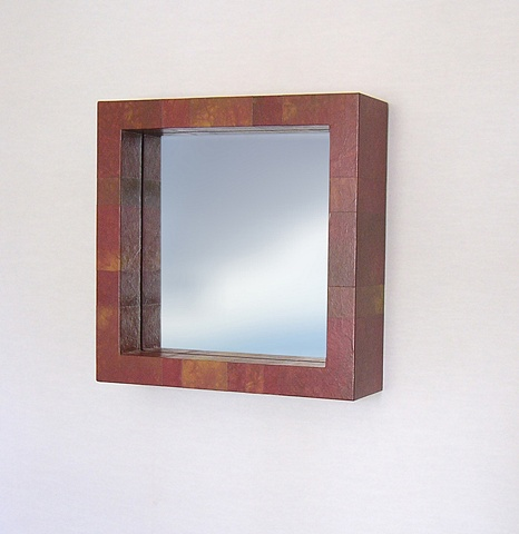 Deep Box Paper Skin Mirror. Color: Orchid modern custom