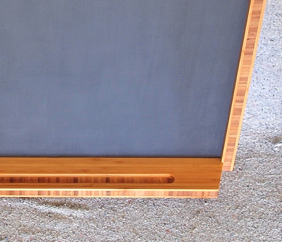 Bamboo Plywood Framed Chalkboard