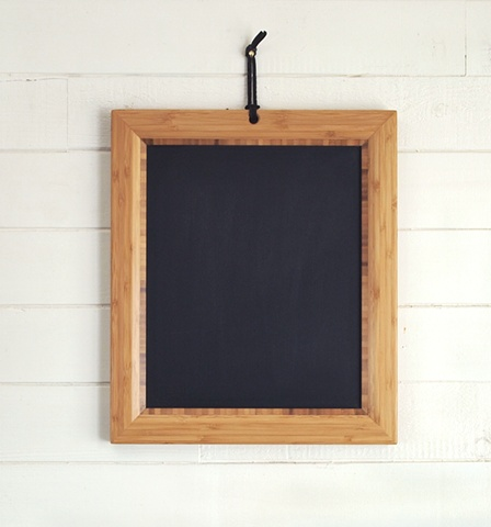 Handmade Chalkbaord Tablet with bamboo frame