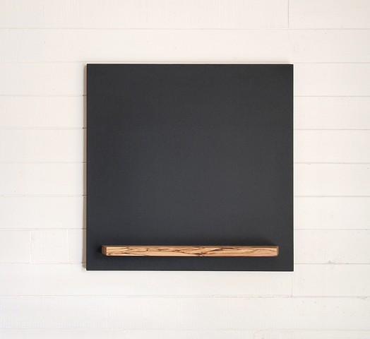 chalkboard, handmade square chalkboard with tray, hanging blackboard, custom sizes