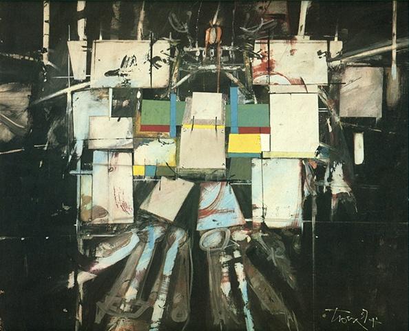Untitled Figure, 1957
