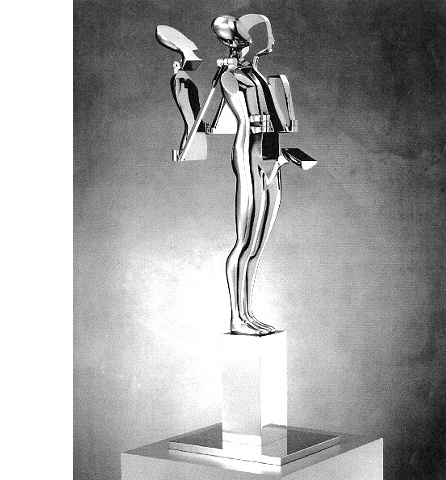 Study/Falling Man (Backwrap Figure), 1982