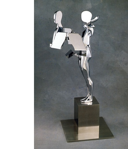 Study/Falling Man (Radical Cut Figure), 1982