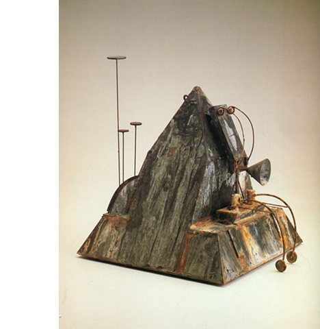 Etc/Insinuation #54 (Pyramid Head), 1980