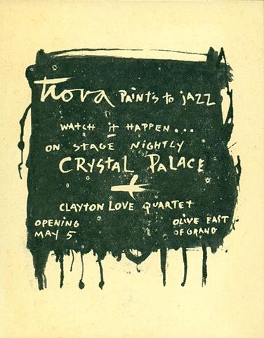 Crystal Palace Advertisement circa 1950s