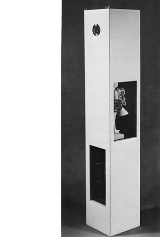 Falling Man Column, 1965