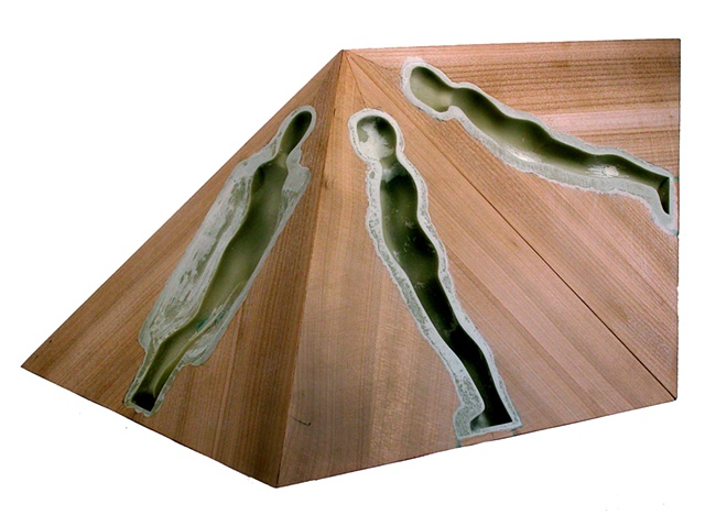 Unrealized model for FM Intaglio/Parallelogram, 2006
