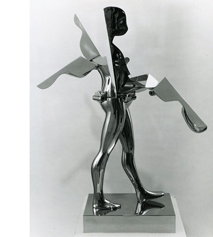 Study/Falling Man (Walking Flowerman), 1970