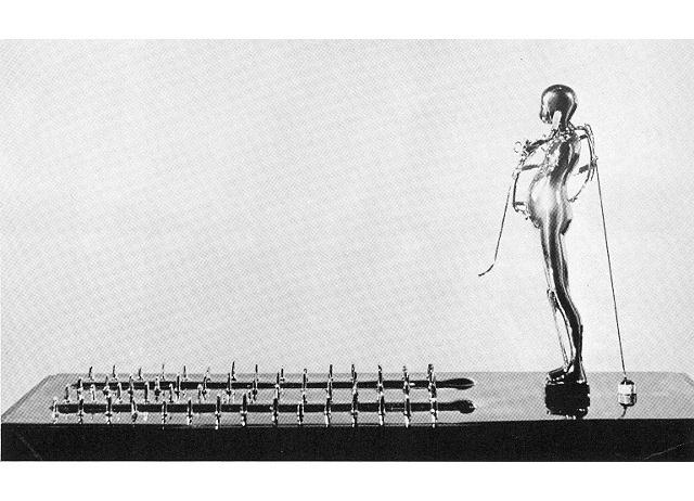 Falling Man/Study (Dangerous Landscape), 1965