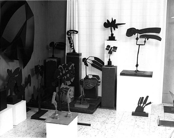 Trova's studio circa 1977.
