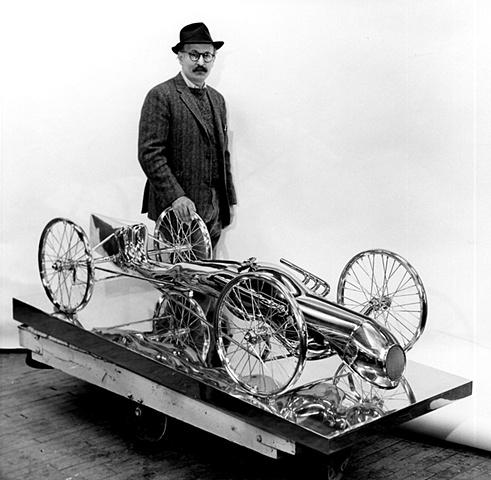 Trova with Study/Falling Man (Carman) circa late 1960s.