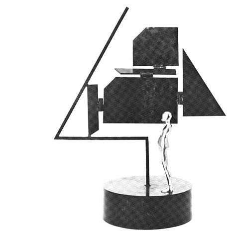 "FM/6"" Figure w/ ECT Bases (hinged), 1985"
