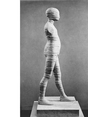 Falling Man/Study (Manscape Figure), 1968
