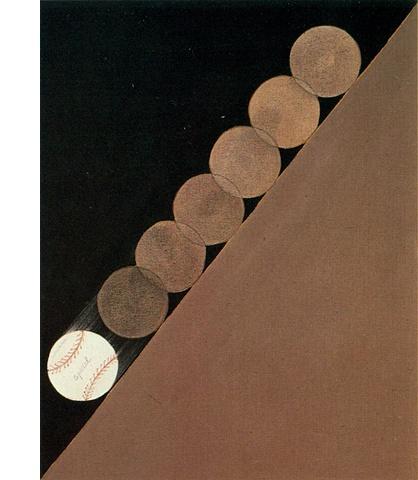 Painting #17 (Baseballs), 1962