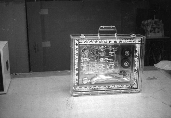 Polaroid of work in progress, circa 1964/65.
