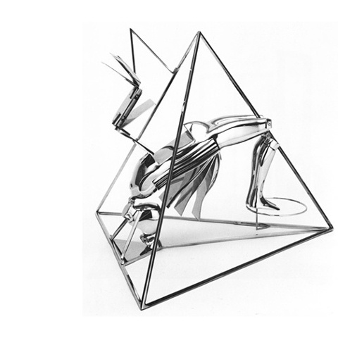 "FM/24"" Figure in Pyramid, 1985"