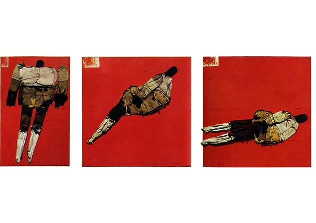 Falling Man Tripych, 1961