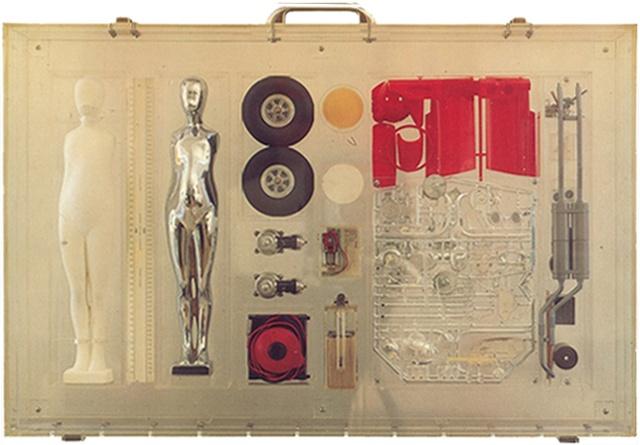 Study/Falling Man (Car Kit), 1964