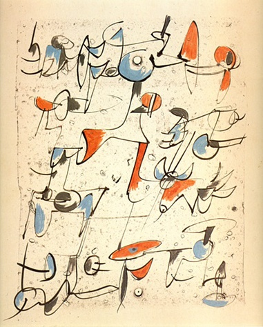 Calligraphy, 1953
