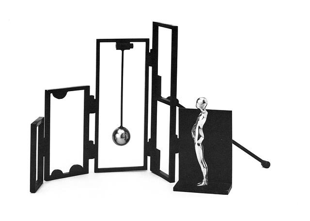 "FM/6"" Figure w/ Screen, 1985"