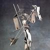 Study/Falling Man (New Cut Figure #2), 1985