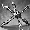 Study/Falling Man (Walking Jackman), 1985