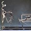 Study/Falling Man (One in Box), 1985