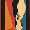 Falling Man Banner, 1968