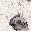 """Splatter Self Portrait"